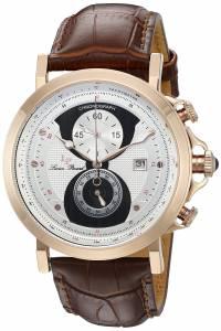 [ルシアン ピカール]Lucien Piccard Pegasus Analog Display Quartz Brown Watch 40015-RG-02S-BRW