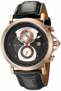 [ルシアン ピカール]Lucien Piccard  Pegasus Analog Display Quartz Black Watch 40015-RG-01