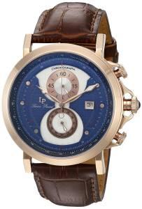 [ルシアン ピカール]Lucien Piccard Pegasus Analog Display Quartz Brown Watch 40015-RG-03-BRW