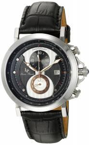 [ルシアン ピカール]Lucien Piccard  Pegasus Analog Display Quartz Black Watch 40015-01-RA