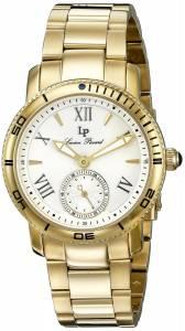 [ルシアン ピカール]Lucien Piccard Misty Rose Analog Display Quartz Gold Watch 40031-YG-22S