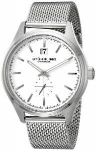 [ステューリングオリジナル]Stuhrling Original Symphony Quartz Date Silver Dial 790.01