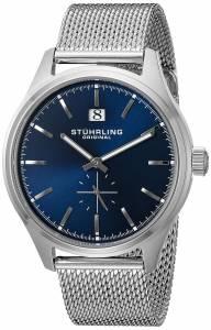 [ステューリングオリジナル]Stuhrling Original Symphony Quartz Date Blue Dial 790.03