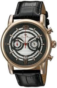 [ルシアン ピカール]Lucien Piccard Morano Analog Display Quartz Black Watch LP-14084-RG-02S