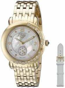 [ジェビル]GV2 by Gevril 腕時計 Analog Display Quartz Gold Watch 9891 レディース