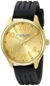 [ステューリングオリジナル]Stuhrling Original Symphony Analog Display Quartz Gold 559.04