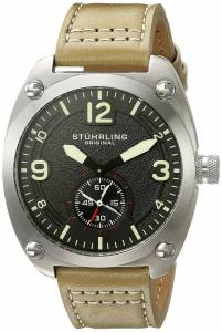 [ステューリングオリジナル]Stuhrling Original  Analog Display Quartz Beige Watch 581.03