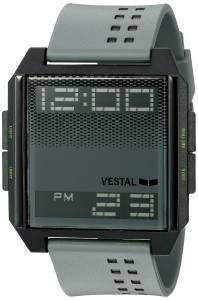 [ベスタル]Vestal  Digichord Digital Display Quartz Grey Watch DIG036 ユニセックス