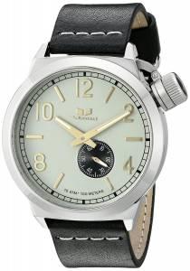 [ベスタル]Vestal  Canteen Leather Analog Display Quartz Black Watch CNT3L01 ユニセックス