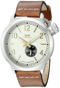 [ベスタル]Vestal  Canteen Leather Analog Display Quartz Brown Watch CNT3L02 ユニセックス