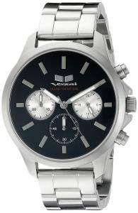 [ベスタル]Vestal  Heirloom Chrono Analog Display Quartz Silver Watch HEICM04 ユニセックス