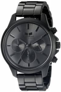 [ベスタル]Vestal  Heirloom Chrono Analog Display Quartz Black Watch HEICM06 ユニセックス