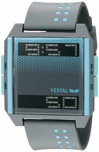[ベスタル]Vestal  Digichord Digital Display Quartz Grey Watch DIG037 ユニセックス