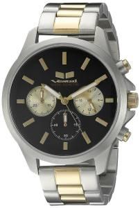 [ベスタル]Vestal  Heirloom Chrono Analog Display Quartz Silver Watch HEICM05 ユニセックス