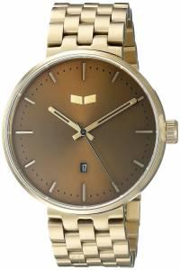 [ベスタル]Vestal  Roosevelt Metal Analog Display Quartz Gold Watch ROS3M005 ユニセックス