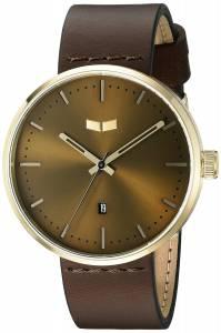 [ベスタル]Vestal Roosevelt Leather Analog Display Quartz Brown Watch RST3L04 RST3L04