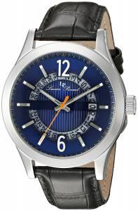 [ルシアン ピカール]Lucien Piccard  Oxford Analog Display Quartz Black Watch LP-40020-03