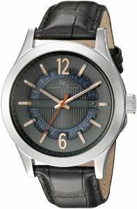 [ルシアン ピカール]Lucien Piccard Oxford Analog Display Quartz Black Watch LP-40020-014-RA