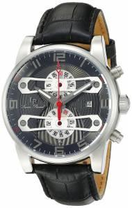 [ルシアン ピカール]Lucien Piccard  Bosporus Analog Display Quartz Black Watch LP-40045-014