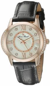 [ルシアン ピカール]Lucien Piccard Dalida Analog Display Quartz Black Watch LP-40001-RG-02S
