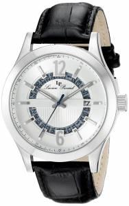 [ルシアン ピカール]Lucien Piccard  Oxford Analog Display Quartz Black Watch LP-40020-02S