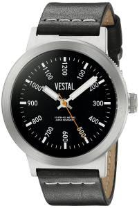 [ベスタル]Vestal  The Retrofocus Analog Display Quartz Black Watch SLR3L002 ユニセックス