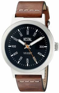 [ベスタル]Vestal  The Retrofocus Analog Display Quartz Brown Watch SLR3L004 ユニセックス