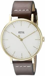 [ベスタル]Vestal The Sophisticate Stainless Steel Watch with Brown Band SPH3L03 SPH3L03