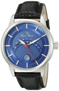 [ルシアン ピカール]Lucien Piccard  Sorrento Analog Display Quartz Black Watch LP-10154-03