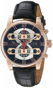 [ルシアン ピカール]Lucien Piccard Bosporus Analog Display Quartz Black Watch LP-40045-RG-01