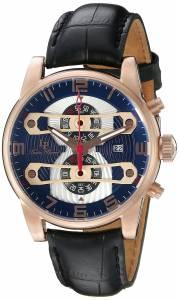 [ルシアン ピカール]Lucien Piccard Bosporus Analog Display Quartz Black Watch LP-40045-RG-03