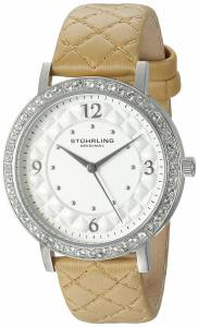 [ステューリングオリジナル]Stuhrling Original  Analog Display Quartz Beige Watch 786.01