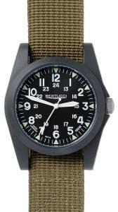 [ベルトゥッチ]bertucci A3P Sportsman Vintage Field Black / Olive Nylon Analog Quartz 13351